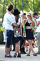 dianna agron tribal camera coachella 20