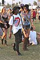 kendall and kylie jenner on an accesory hunt at coachella 201403