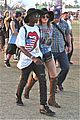 kendall and kylie jenner on an accesory hunt at coachella 201441