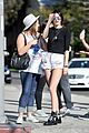 kendall jenner long legs sunday outing 06