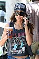 naya rivera larchmont coffee run 01