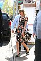 taylor swift floral dress gym nyc 01