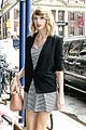 taylor swift striped dress nyc outing 05