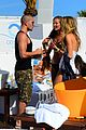 the wanted max george mingles bikini babes marbella 04