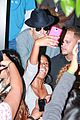justin bieber supports chris brown at skating fundraiser 09