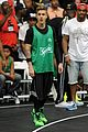 justin bieber chris brown bet celeb basketball game 18
