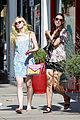 elle fanning switches casual chic outfits errands 31