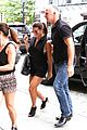 lea michele flashes her lacy white bra while shopping with her mom 09