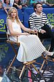 chloe moretz jamie blackley stay gma spot 08