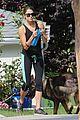 ian somerhalder nikki reed hiking dogs 05