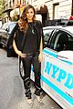 nina dobrev promotes lets be cops all over new york 05