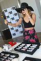 vanessa hudgens floppy hat kari emmy lounge 06