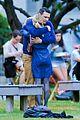james franco emma roberts kiss park michael filming 25