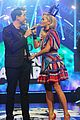 rita ora wears union flag mustache teen awards 07