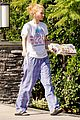 iggy azalea checks mail in comfy pjs 13