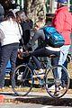 chloe moretz bikes around 5th wave set 09