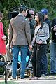 lea michele darren criss get egged on during fun glee day 01
