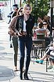 justin bieber hailey baldwin grab lunch for second straight day 01