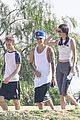 justin bieber lunch hailey baldwin hiking kendall jenner 43