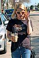 emma roberts evan peters enjoy coffee separately ahead of her 24th birthday 06