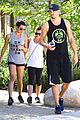 lea michele matthew paeta weekend treepeople hike 13