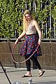 willow shields mark ballas beach balls hula hoops dwts 03