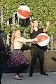willow shields mark ballas beach balls hula hoops dwts 05