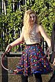 willow shields mark ballas beach balls hula hoops dwts 11