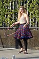 willow shields mark ballas beach balls hula hoops dwts 14