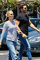 claire holt male friend lunch date after engagement 14