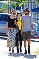 miley cyrus grab sushi lunch before july 4th weekend 15
