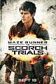dylan obrien maze runner scorch trials poster 01
