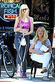 elle fanning shoe shopping joy workout other errands 22