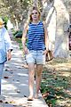 elle fanning lunch dakota hair appointment separate outings 04