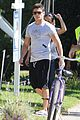 zac efron wears short shorts while filming neighbors 2 11