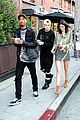 kendall jenner bares midriff in two outfits during one day 27