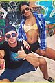 zac efron goes shirtless in new instagram with sami miro 08