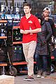 ansel elgort pizza delivery guy new movie atl 02