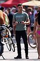 zac efron films baywatch on motorcycle 40