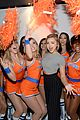 peyton list olivia culpo clinique early morning pep start event 04