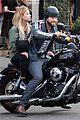 ashley benson keegan allen lunch motorcycle ride 04