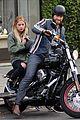 ashley benson keegan allen lunch motorcycle ride 06