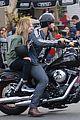 ashley benson keegan allen lunch motorcycle ride 19