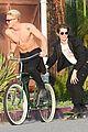cody simpson shirtless bike ride venice 02