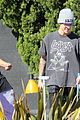 justin bieber plays a morning game of mini golf 30