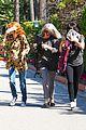 khloe kardashian kendall jenner kylie jenner disguise run from photographers 32