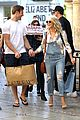 julianne hough brooks laich giggle shopping 08
