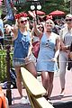 pixie lott charlie oliver cheshire disneyland vacation 09