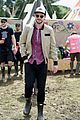 nicholas hoult douglas booth check out glastonbury festival 23