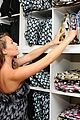alexa penavega carlos baby items showroom visit 12